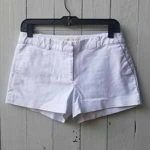 White Michael Michael Kors dress shorts cotton 6